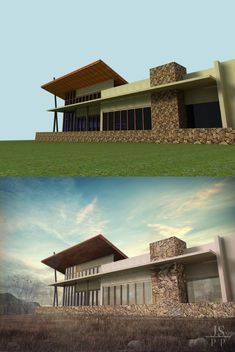 Before and After architecture Tratamento: Photoshop Projeto: DE LA MATRIZ
