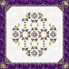 A mandala in it's simplest form is a square composition containing four circles around a center point. In this unique design created by the Running with Scissors Quilters, half square triangles and V Block units are combined in harmony to make your very own Mandala.