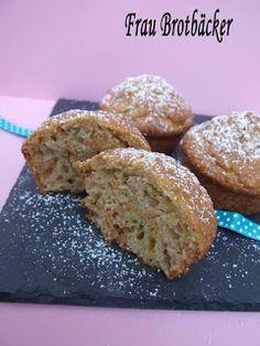 Frau Brotbäcker: Zucchini Muffins