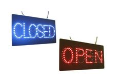 Amazon.com : Open Closed, Super Bright High Quality LED Open Sign, Store Sign, Business Sign, Windows Sign : Office Products