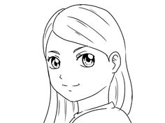 draw yourself as a manga girlboy easy drawings for kidsdrawing - Kids Drawing Sketches