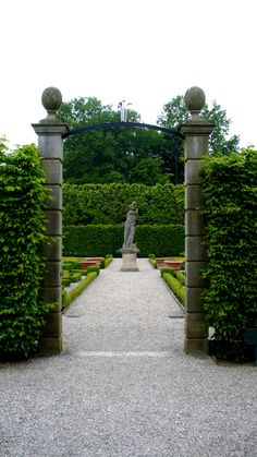 the gardens in Hannover, Germany