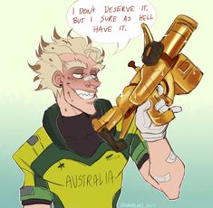 This is actually true because I recently gotten the Junkrat golden gun.. and I felt like I don't deserve it.. but I finally have it!