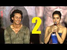 UNCUT Q & A | BAAGHI trailer launch | Tiger Shroff, Shraddha Kapoor |  PART 2