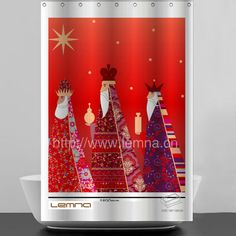 christmas design 3D photo design textile polyester shower curtains, View shower curtains, lemna Product Details from Ningbo Lemna Household Products Co., Ltd. on Alibaba.com
