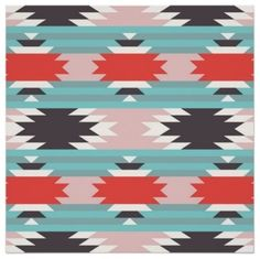 Aztec Tribal Pattern Native American Print eclectic prints and posters