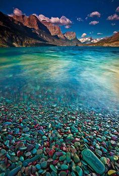 Glacier Stones – St. Mary Lake