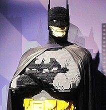 Lego Batman combines two of my son's fav. things...