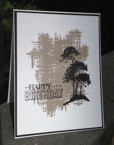 """By Blythe Klipple. Uses stamps from Stampin' Up sets """"You've Got This"""" and """"Serene Silhouettes."""""""