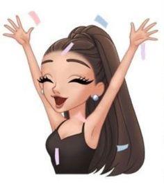 Ariana Grande cute icons with emojis Ariana Grande Anime, Ariana Grande Cute, Ariana Grande Drawings, Ariana Grande Wallpaper, Ariana Grande Pictures, Cute Tumblr Wallpaper, Cute Girl Wallpaper, Emoji Wallpaper, Cute Wallpaper Backgrounds