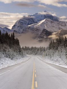 The Icefields Parkway, Banff-Jasper National Parks, Canada