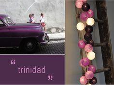 Trinidad 35 Lampor - Happy Lights - Dennys Home Happy Lights, Trinidad, My Dream Home, Rum, Colours, Pretty, Flowers, Handmade, Crafts