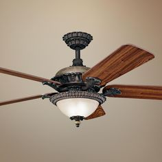 """52"""" Kichler Roxton Colton Bronze Ceiling Fan   LampsPlus.com"""