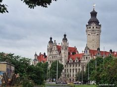 """""""new City Hall in the historical old town of Leipzig"""""""