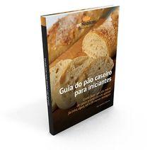 Como fazer um pão macio de casca grossa usando apenas farinha, água, sal e fermento biológico
