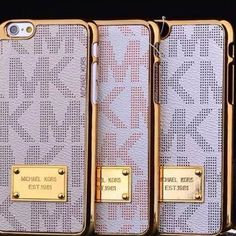 White Mk case for iPhone 6 Plus Mk case for iPhone 6 Plus also available for iPhone 6 and Samsung Michael Kors Accessories Phone Cases