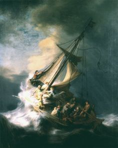 Stolen in 1990 from the Isabella Stewart Gardner Museum: Rembrandt, The Storm on the Sea of Galilee, 1633. Oil on canvas, 161.7 x 129.8 cm. Share and repin the FBI's site for more info on stolen works and reward for their return: http://www.fbi.gov/news/stories/2013/march/reward-offered-for-return-of-stolen-gardner-museum-artwork