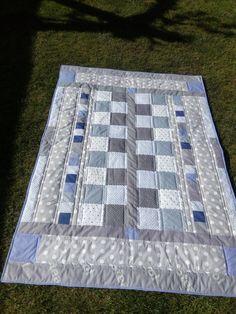 """""""Deka PEPITO"""" lehký přehoz - přikrývka  na jedno lůžko 196 x 138 cm. Picnic Blanket, Outdoor Blanket, Scrappy Quilts, Picnic Quilt"""