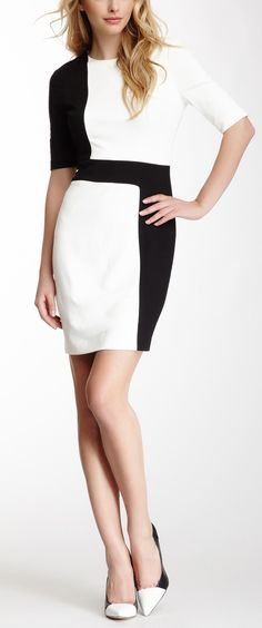 Zoey Colorblock Dress
