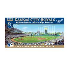 1000 Piece Ballpark Puzzle - Kansas City Royals