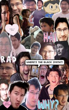 I love those #markiplier // it looks like Tim is looking for the blacksmith