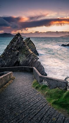 Dunquin Pier Walkway, Dingle Peninsula, Ireland