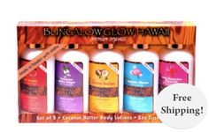 Coconut Butter Body Lotions - By Bubble Shack Hawaii