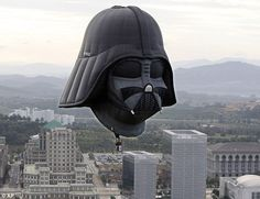 Darth Vader hot air balloon!