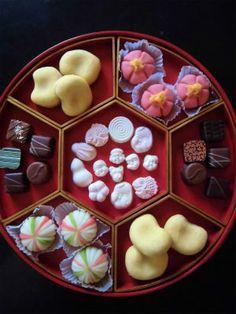 Japanese Wagashi Cake Assortment|おもてなしの和菓子膳