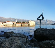 Again in Budva Old Town or Mild Winter on the Adriatic Shore Fishing Villages, Happy People, 15th Century, Montenegro, Old Town, The Locals, Palm Trees, Night Life, Old Things
