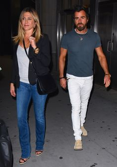 See Jennifer Aniston and Justin Theroux's Cutest Couple Moments - June 21, 2016 from InStyle.com