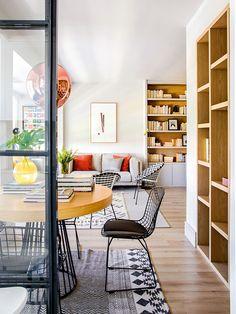 Priorité à l'espace pour une rénovation design - PLANETE DECO a homes world Renovation Design, Ikea, Surface Habitable, Minimal Home, Piece A Vivre, Interior Exterior, Interiores Design, Decoration, Architecture
