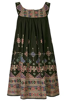 I love the AZTEC-PRINT SUNDRESS from the Kate Moss for Topshop collection at Nordstrom.