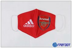 Masque FFP2 Arsenal Rouge 02 Anti Poussière Reutilisable Arsenal Fc, Arsenal Club, In China, Premier League, Stella, Messi, Ronaldo, Fifa, Arsenal Football