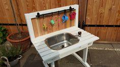 Watertafel voor kinderen diy speeltafel water