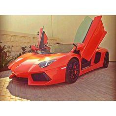 Exhilarating Lamborghini Aventador!