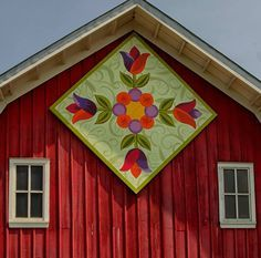 how to make a small barn quilt - Google Search
