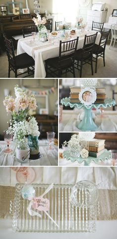 Shabby Chic Baby Shower for a Boy!!!