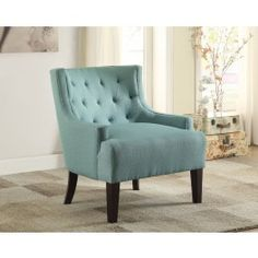 Dulce Teal Accent Chair