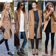 Moda casual chic jeans camel coat Ideas for 2020 Casual Fall Outfits, Winter Outfits, Mode Outfits, Fashion Outfits, Fashion Boots, Fashion Ideas, Camel Coat Outfit, Pinterest Fashion, Pinterest Blog