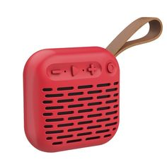 Беспроводная водонепроницаемая колонка Hoco BS22, красная Артикул: z009286G1p6 Waterproof Bluetooth Speaker, Landline Phone