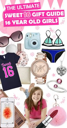 Sweet 16 Gift Ideas For Year Old Girls AFFORDABLE