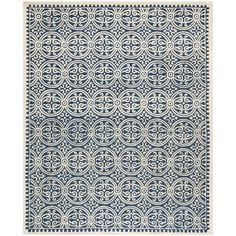 You'll love the Cambridge Navy Blue/Ivory Area Rug at Wayfair - Great Deals on all Décor products with Free Shipping on most stuff, even the big stuff.