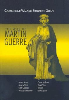 Cambridge Wizard Student Guide The Wife of Martin Guerre (Cambridge Wizard English Student Guides) Computer Programming Books, Student Guide, Sample Essay, Cambridge, Author, English, Movie Posters, War, Film Poster