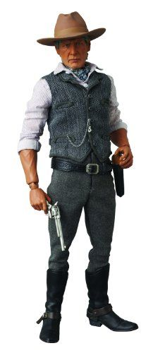 Medicom Cowboys and Aliens Colonel Woodrow Dolarhyde Real Action Heroes Figure * More info could be found at the image url.