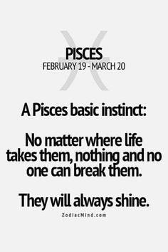 Zodiac Mind - Your source for Zodiac Facts Aquarius Pisces Cusp, Pisces Traits, Pisces Love, Astrology Pisces, Pisces Quotes, Zodiac Signs Pisces, Pisces Woman, Zodiac Mind, Zodiac Facts