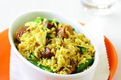 Here's a quick-and-easy spicy pilaf to get you in the mood for the weekend.