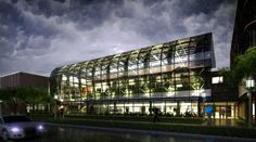 CGarchitect - Professional 3D Architectural Visualization User Community | Urban Greenhouse in a storm