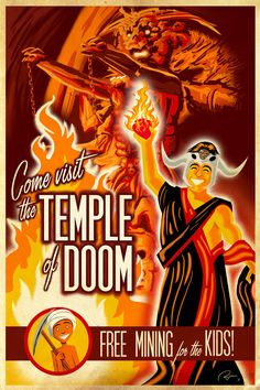 Come visit the Temple of Doom