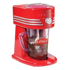 We all know someone who loves Coca-Cola! This frozen beverage maker stirs up the perfect Coke slushie.